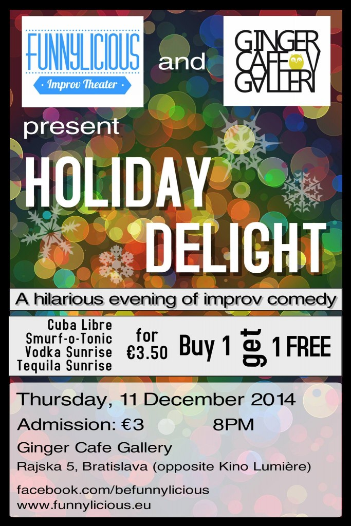 Holiday Delight Improv Theatre Show