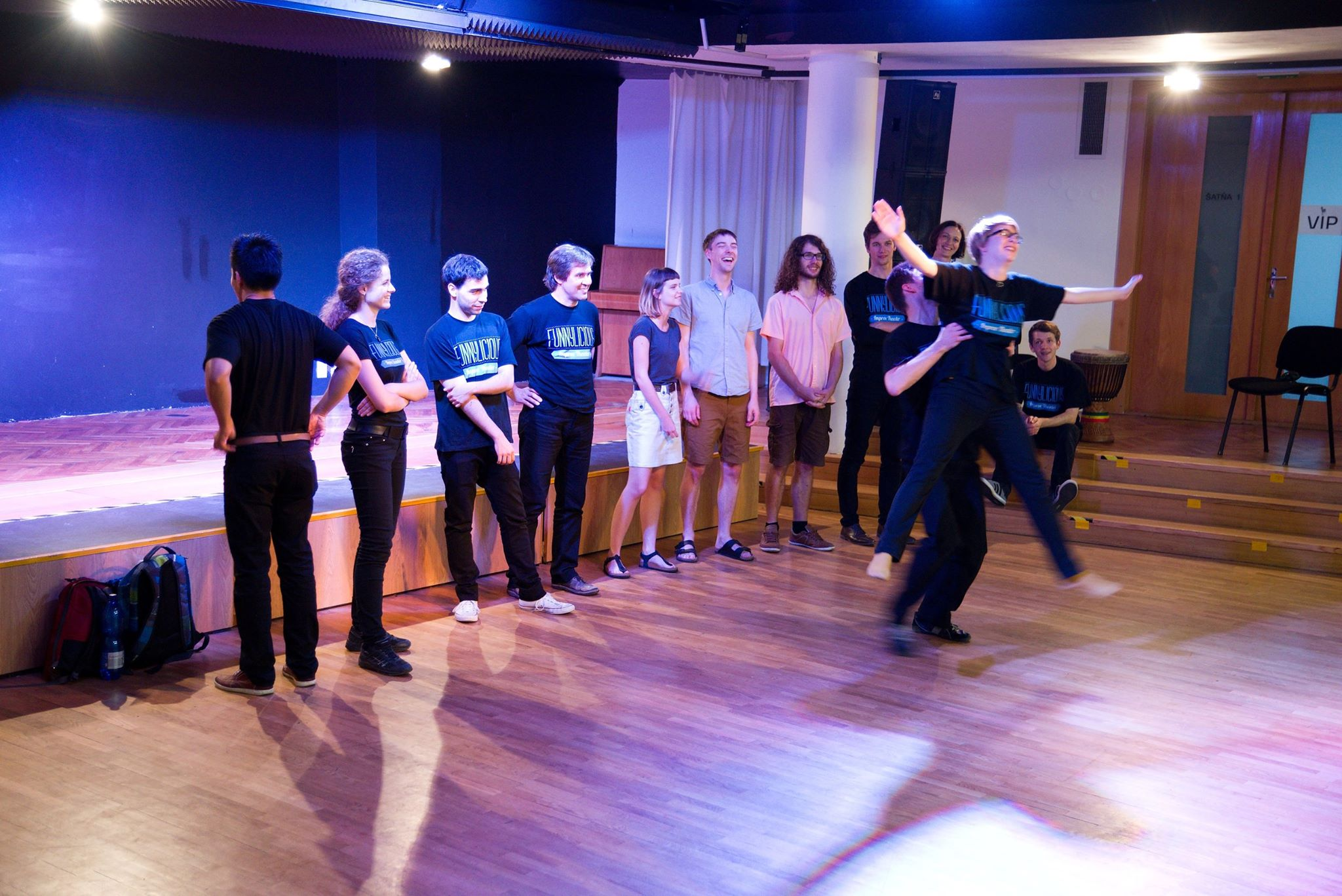 workshop improv tímbilding