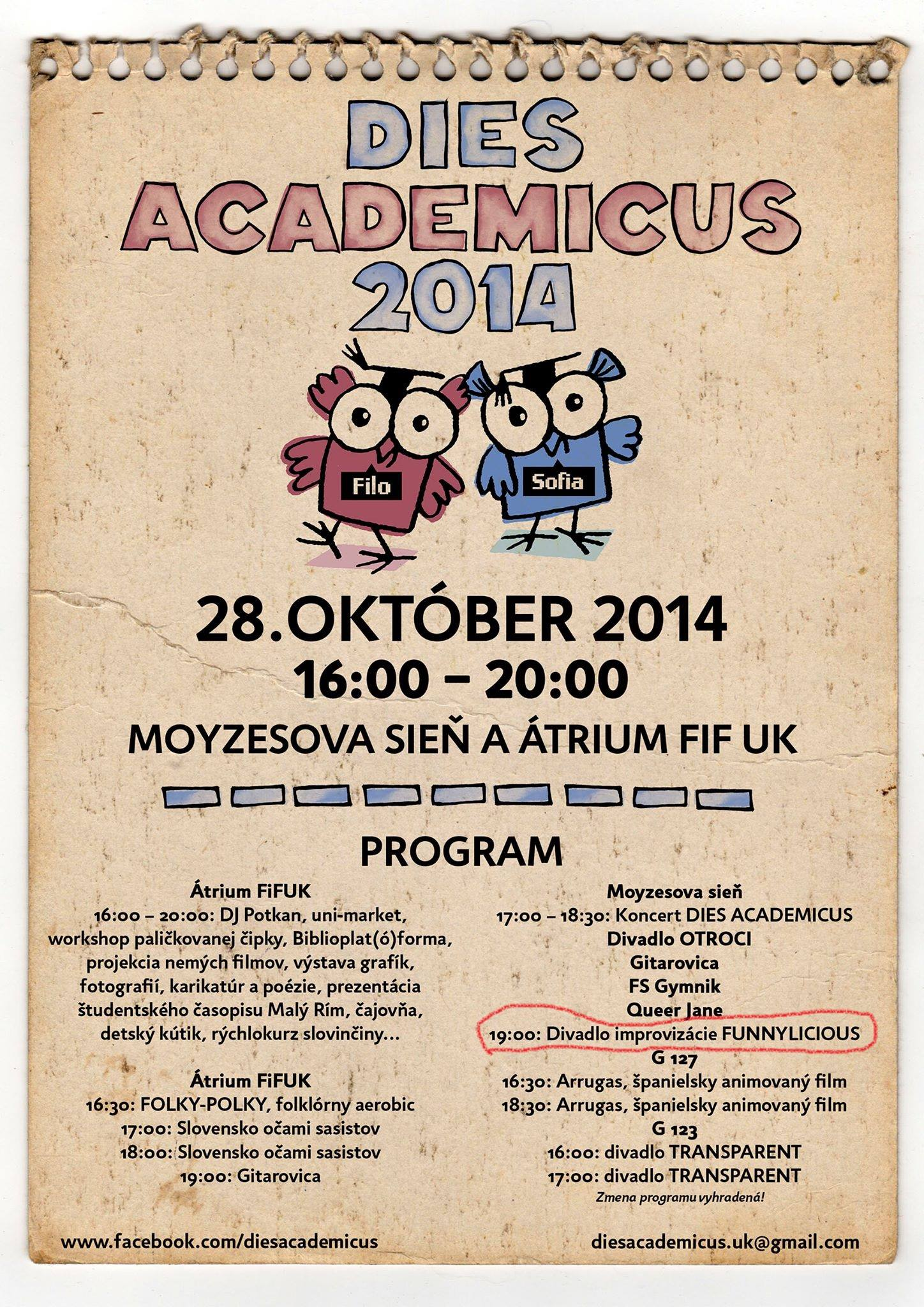 Academicus 2014 with Funnylicious
