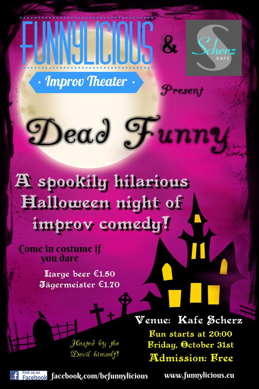 Dead Funny Improv Bratislava