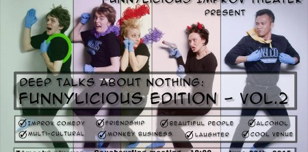Deep Talks About Nothing: Funnylicious Edition – Vol.2