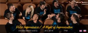 Večer Improvizácie/ A Night of Improvisation @ Divadlo Malá scéna STU   Bratislavský kraj   Slovakia